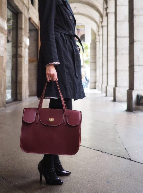 sac Colette porté