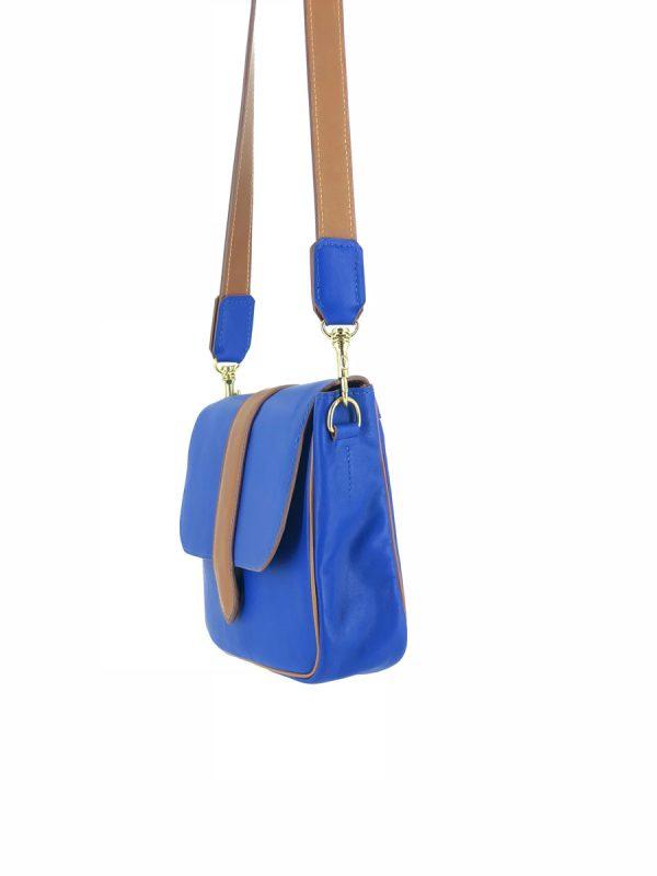 sac Paris Bleu côté