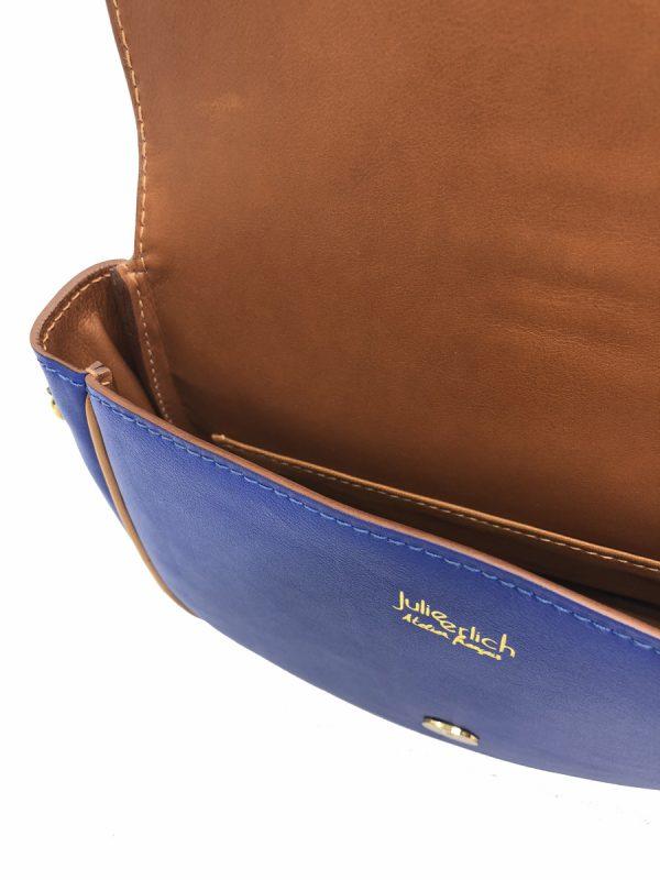 sac Paris Bleu intérieur