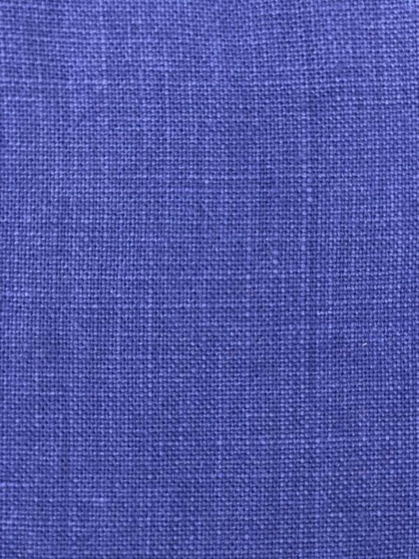 Zoom lin français bleu indigo
