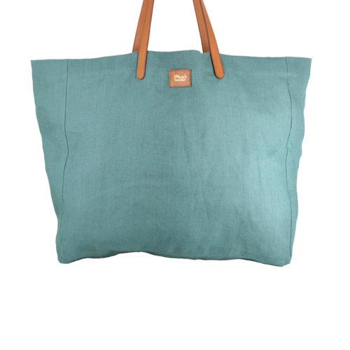 Lino vert celadon