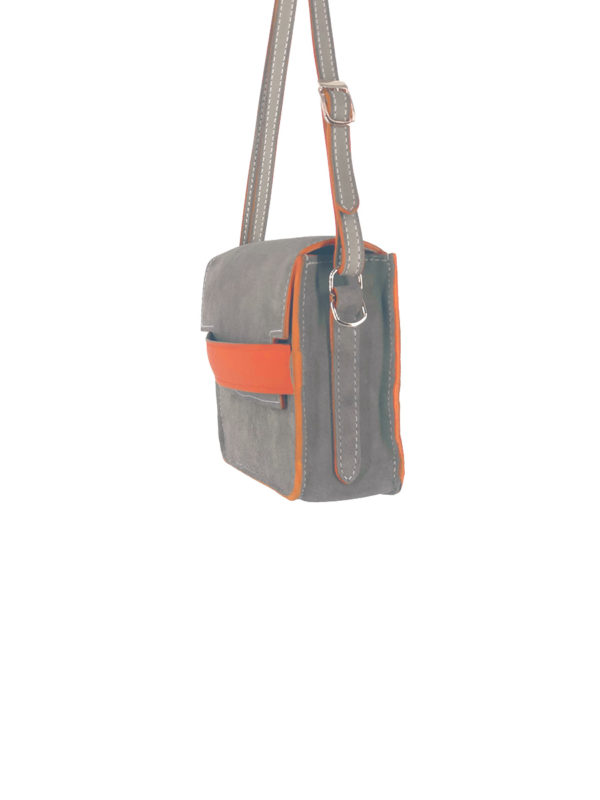 Sac Marcelle taupe vue profil