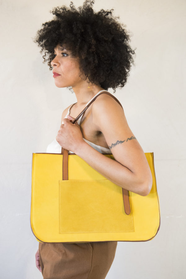NaNa Star jaune porté