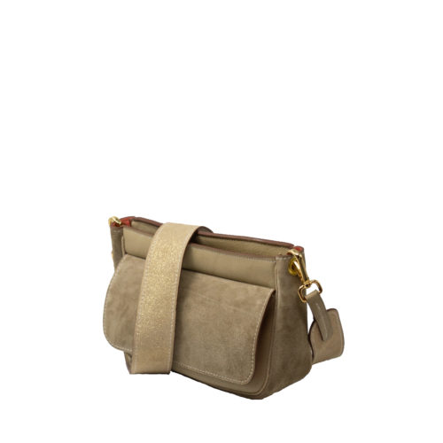 Sac Yvette Gris Taupe