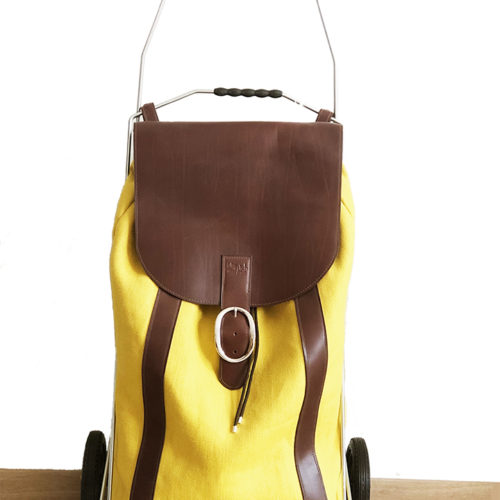 caddie jaune-face
