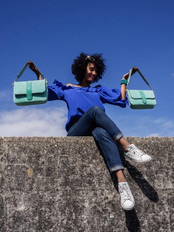 Sac Paris Turquoise