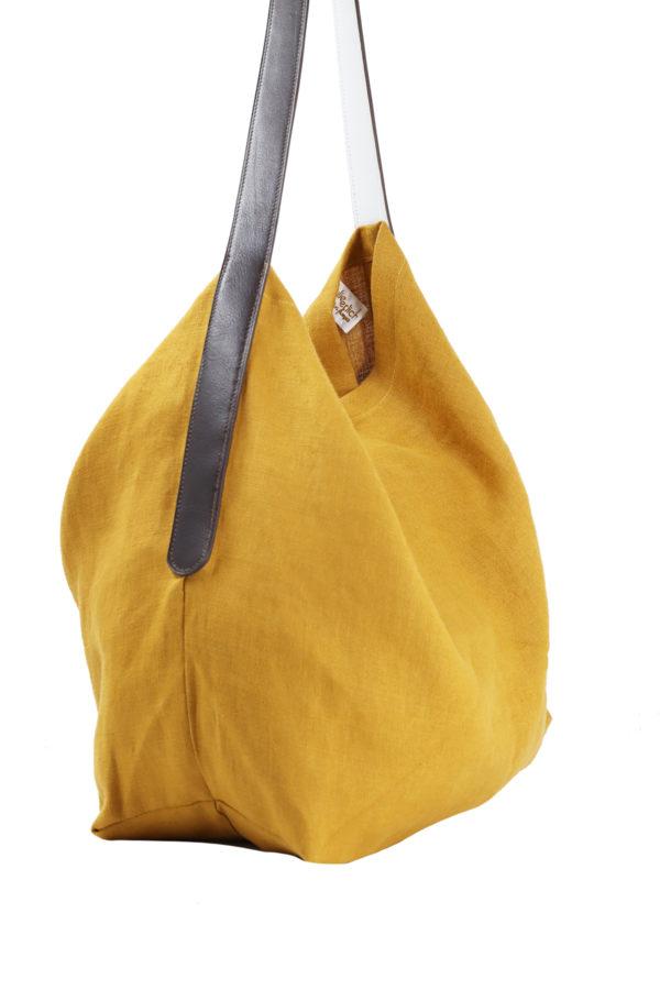 Lino jaune-coté