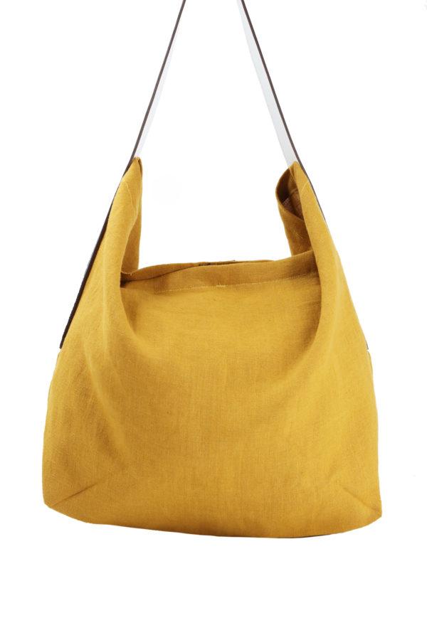 Lino jaune-dos
